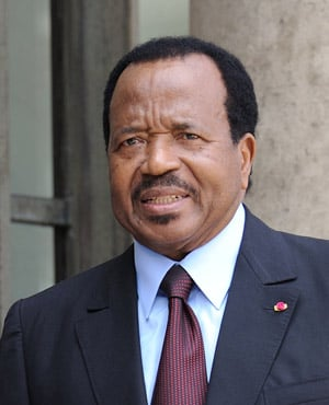 Preisdent Paul Biya (File: AFP)
