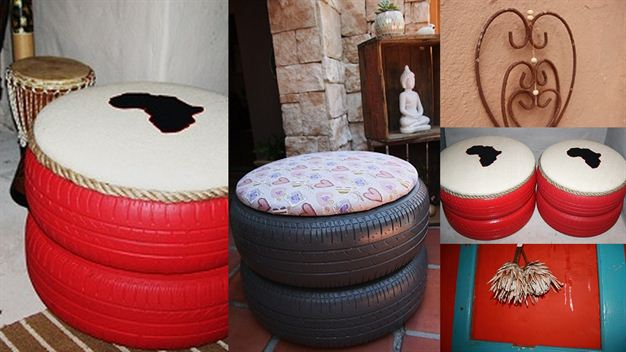 Diy tyre chairs for Diy tire chair