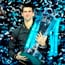 Check out pictures from Novak Djokovic's victory over Roger Federer in the final of the ATP Tour Finals in London.