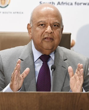 Finance Minister Pravin Gordhan. (Photo: GCIS)