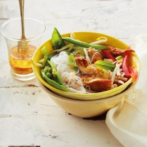 recipe, fish, noodles, salad, seafood, dinner,lunc
