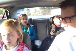 Bohemian Rhapsody on the way to school