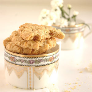 peanut butter and cornflakes cookies recipe