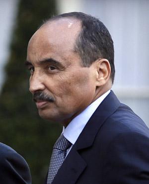 Mohamed Ould Abdel Aziz. (AFP)