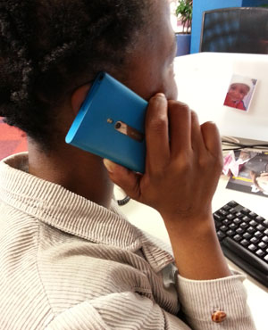 A local company has offered South Africans free calls. (Duncan Alfreds, News24)
