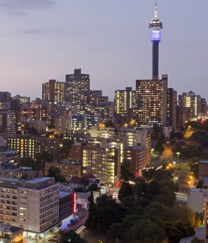 The City of Johannesburg at night. (Photo: iStock)