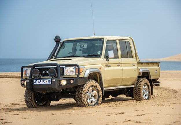 FIRST DRIVE | The rugged Toyota Land Cruiser Namib Edition is made for any terrain
