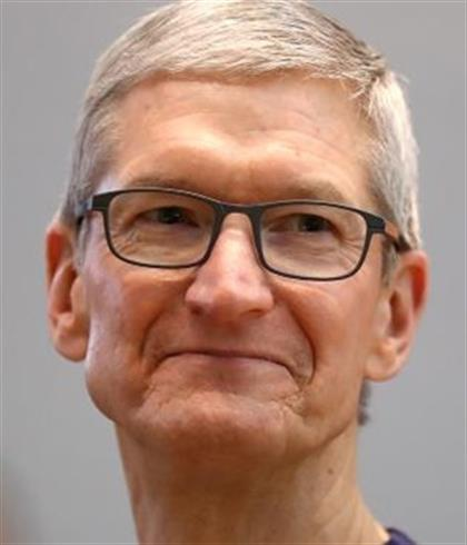 Tim Cook says his generation has failed by over-debating climate change