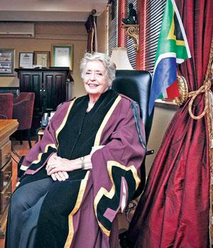 Tlokwe mayor Annette Combrink. (Lerato Maduna, Beeld)