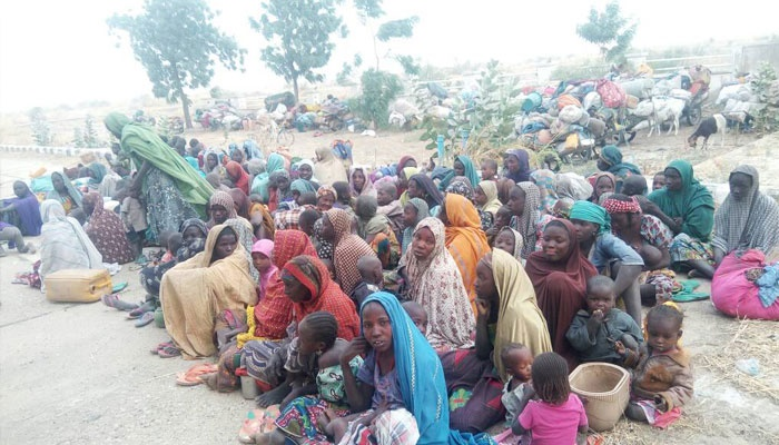 Persons rescued from Boko Haram