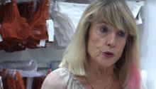 Breast cancer survivor uses lingerie to educate women