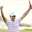 See pictures of Charl Schwartzel winning the Thailand Golf Championship.