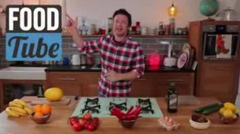 jamie oliver food tube