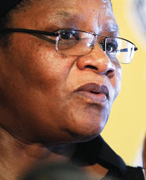 Thandi Modise (Picture: Beeld)