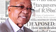 NEWSPAPERS: Zuma accused of corruption & R35bn lost