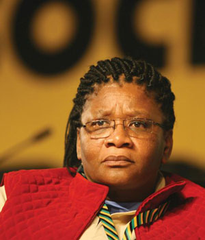 NCOP chair Thandi Modise.