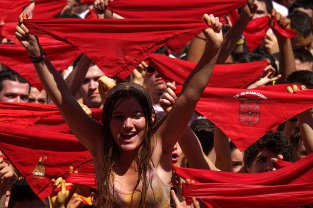 Spanish Festival Bull Running Bull-running Festival