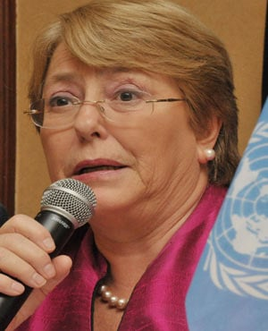 Michelle Bachelet (File, AFP)