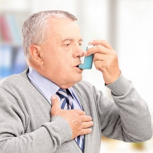 Man with asthma safe from prostate cancer