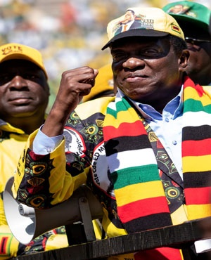 Emmerson Mnangagwa (File: AFP)
