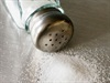 Soothe foot pain with salt