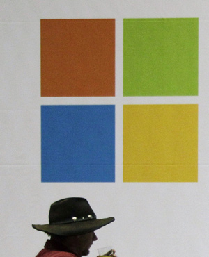 Microsoft (Picture: AP)