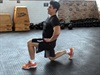 One minute of lunges