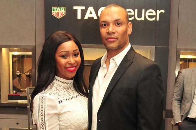 Minnie Dlamini and Quinton Jones.