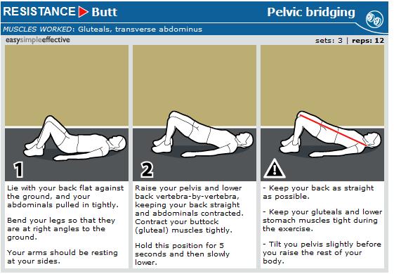 pelvic bridging