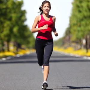 Athlete road runner