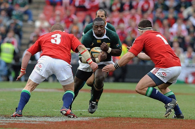 Beast Mtawarira gave the Lions a torrid time at the scrums in the first Test back in 2009.  (Photo by Lee Warren/Gallo Images/Getty Images)