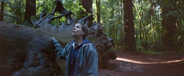 Frances McDormand in a scene from Nomadland. Searc