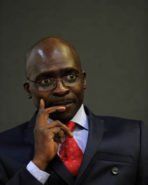 Public Enterprises Minister Malusi Gigaba. (Picture: Werner Beukes/SAPA )