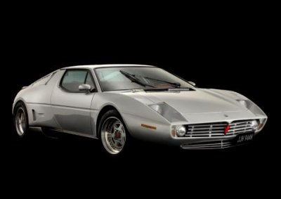 <b>SILVER LINING:</b> Motorsport specialist Carrosserie Saurer in Switzerland have revamped a Maserati Merak to be auctioned at the Silverstone Auctions in May 2013. <i>Image: Newspress</i>