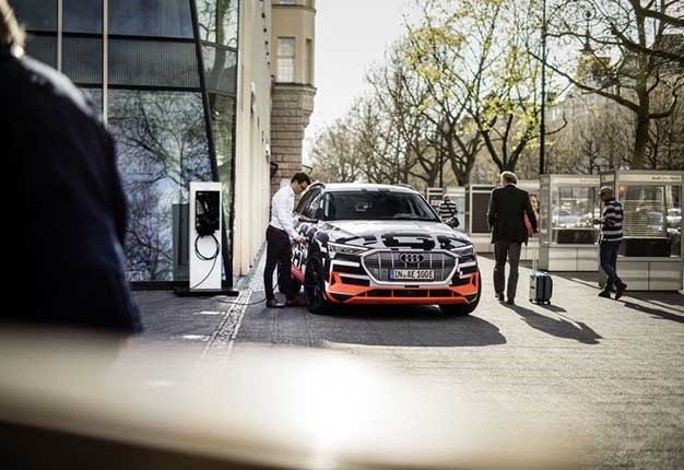 Cool Car Tech Audi Introduces New Home Charging System Wheels - Cool audi