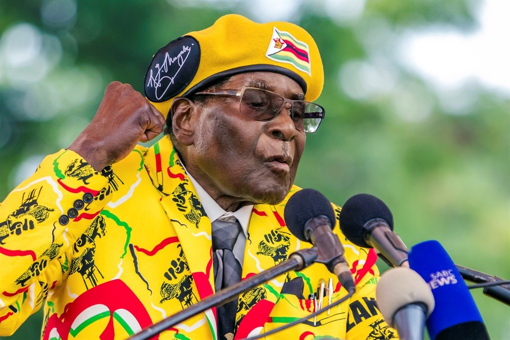 Robert Mugabe (File: AFP)