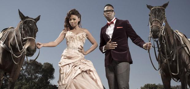 Bonang Matheba Durban July lloyd Cele