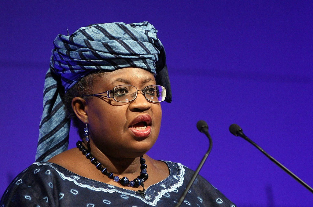 Dr Ngozi Okonjo-Iweala, Managing Director of The World Bank, at the Barbican in London speaking at the Department for International Development Conference.   (Photo by Lewis Whyld - PA Images/PA Images via Getty Images)