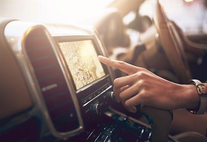 Navigation in car