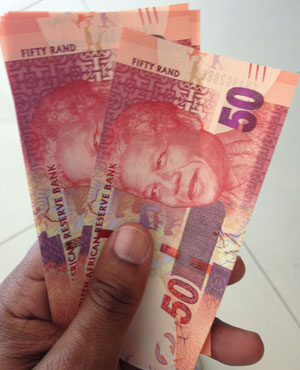 Money. (Duncan Alfreds, News24)