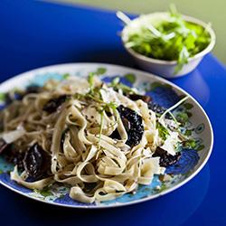 pasta-mushroom-vegetarian-recipe-winter