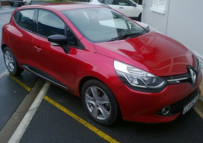 <b>CURVES EVERYBODY CAN APPRICIATE:</b> Reader ROBERT DANIELS says the new Renault Clio is a true contender in SA's B-segment. <i>Image: Robert Daniels</i>