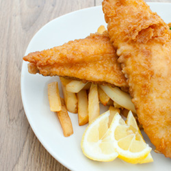 How to make easy homemade beer battered for fish and chips