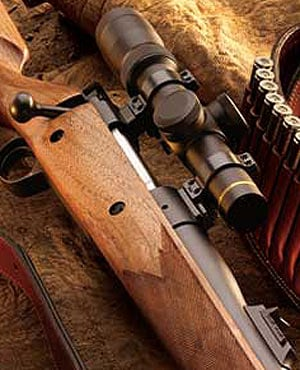 Kimber hunting rifle