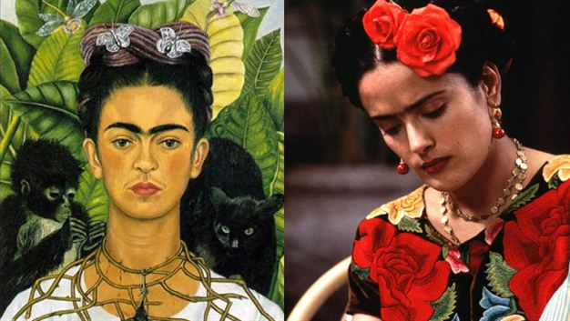 a review of frida a biopic about the famous mexican painter