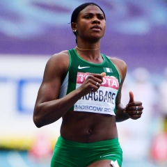 Blessing Okagbare (AFP)