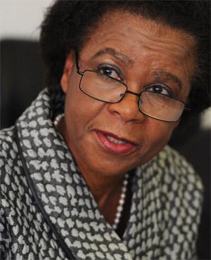 Mamphela Ramphele (Werner Beukes, Sapa)
