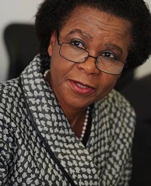 Agang SA leader Mamphela Ramphele. (Werner Beukes, Sapa)