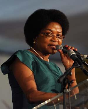 Baleka Mbete (Picture: Sapa)