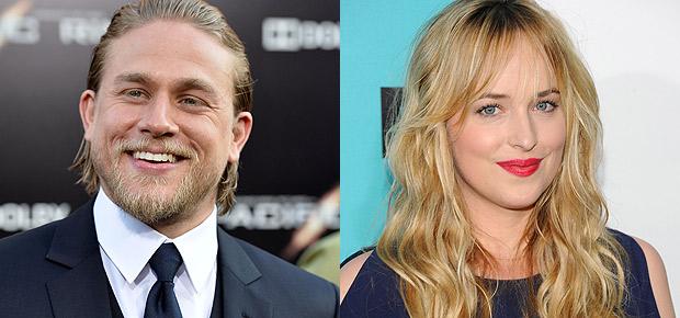 Charlie Hunnam and Dakota Johnson Fifty Shades of